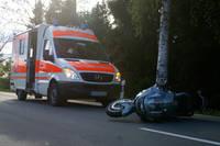 Immer wieder verunglücken zahlreiche Motorradfahrer auf Deutschlands Straßen! Bilderquelle: Matthias Böhl / Blaulicht-Wittgenstein.de